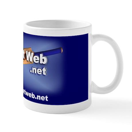 Cricket Web Mug