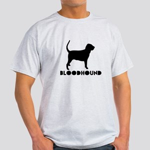 Bloodhound Dog Designs Light T-Shirt