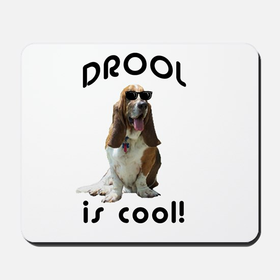 Drool is cool! Mousepad