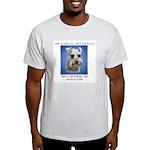 World is a Better (blue)- Ash Grey T-Shirt
