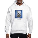 World is a Better (blue)- Hooded Sweatshirt