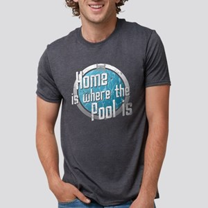 Swimming Home Where Pool Is Swimmer Swim T T-Shirt
