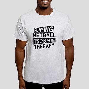 Awesome Netball Player Designs Light T-Shirt