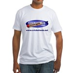 Cricket Web Fitted T-Shirt