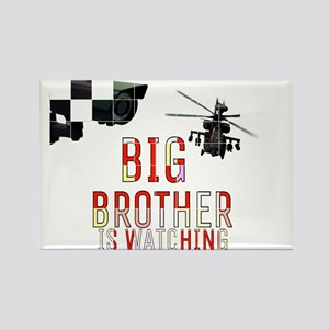 BIG BROTHER IS WATCHING Magnets
