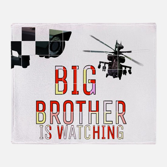 BIG BROTHER IS WATCHING Throw Blanket