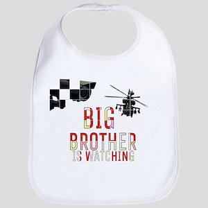 BIG BROTHER IS WATCHING Baby Bib