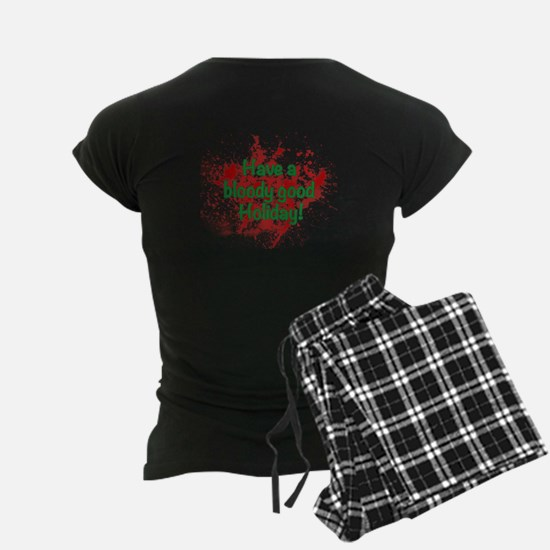 Jingle Hells Hearse Pajamas