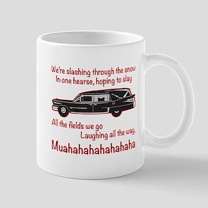Jingle Hells Hearse Mugs