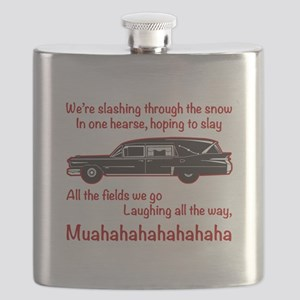 Jingle Hells Hearse Flask