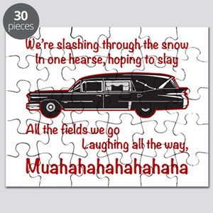 Jingle Hells Hearse Puzzle