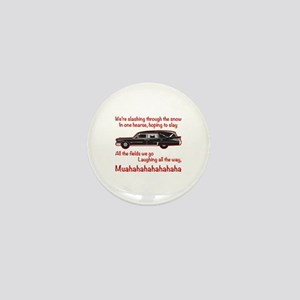 Jingle Hells Hearse Mini Button