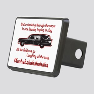 Jingle Hells Hearse Hitch Cover