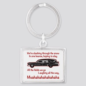 Jingle Hells Hearse Keychains