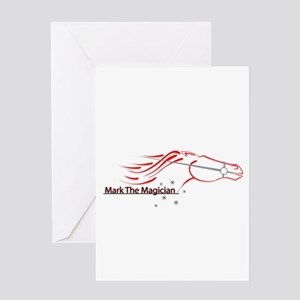 Mark The Magician Greeting Card