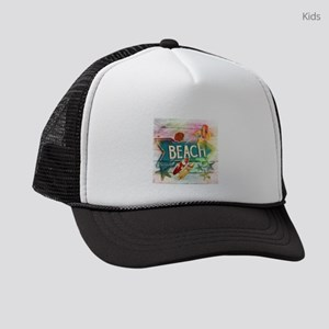 ec6d8dc81 Surf Girl Kids Trucker Hats - CafePress