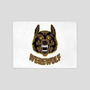 Werewolf 5'x7'Area Rug