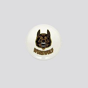 Werewolf Mini Button