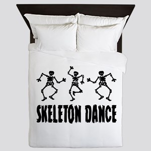 Skeleton Dance Queen Duvet