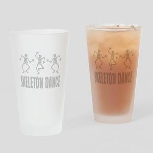Skeleton Dance Drinking Glass