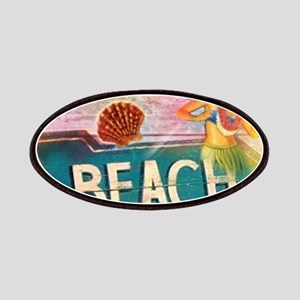 hawaii aloha beach surfer Patch