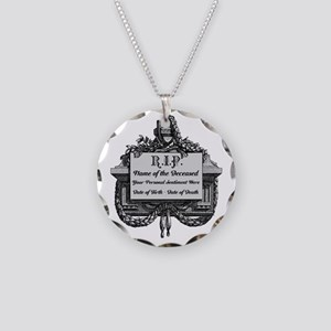 R.I.P. Personalized Necklace