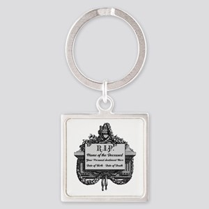 R.I.P. Personalized Keychains