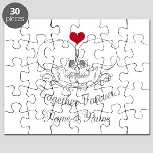 Together Forever Personalized Puzzle