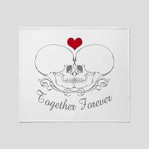 Together Forever Throw Blanket
