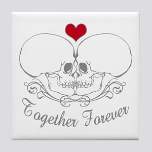 Together Forever Tile Coaster