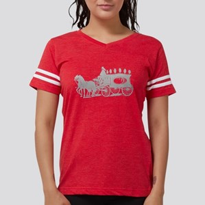Grey Victorian Hearse Womens Football Shirt