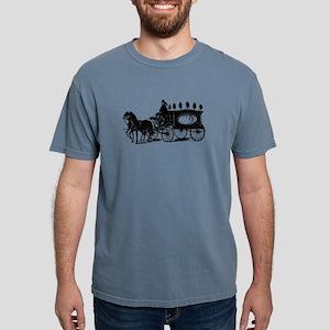 Black Victorian Hearse Mens Comfort Colors Shirt