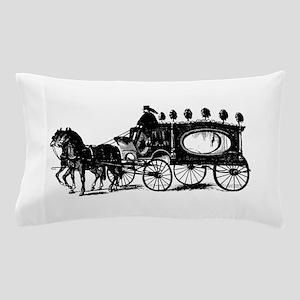 Black Victorian Hearse Pillow Case