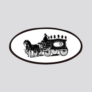 Black Victorian Hearse Patches