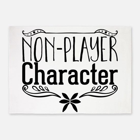 Non-player Character 5'x7'Area Rug