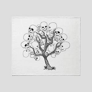Tree of Death Throw Blanket