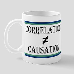 Correlation Causation 11 oz Ceramic Mug