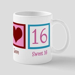 Cute Sweet 16 11 oz Ceramic Mug