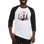 Bywater Tracks New Orleans Music Baseball Jersey