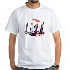 Bywater Tracks New Orleans Music Live Logo T-Shirt