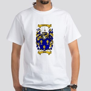 Shaw Coat of Arms White T-Shirt