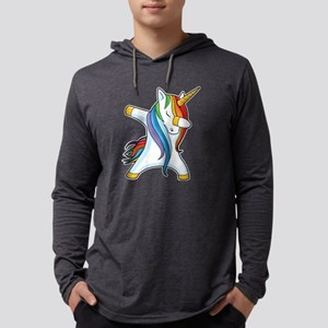 Dabbing Unicorn Long Sleeve T-Shirt