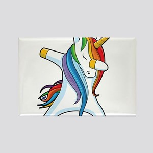 Dabbing Unicorn Magnets
