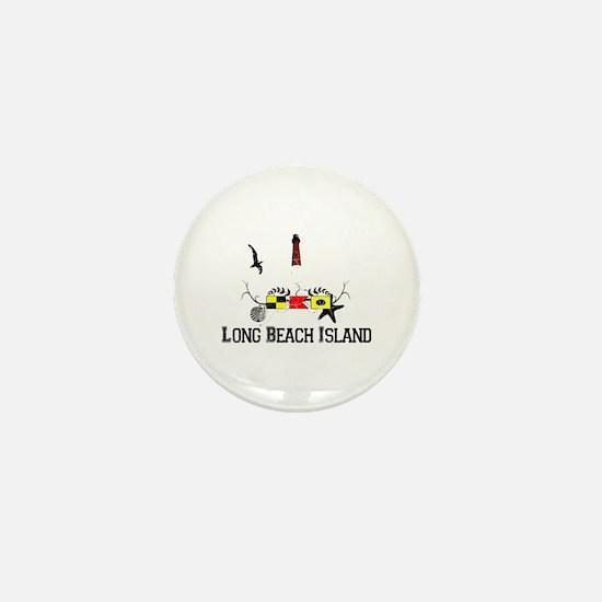 Barnegat Lighthouse Mini Button