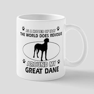 Great Dane Design Mugs