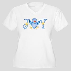 joy_bluebird Plus Size T-Shirt