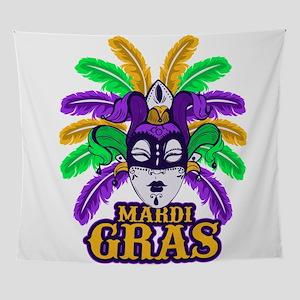 Mardi Gras Wall Tapestry