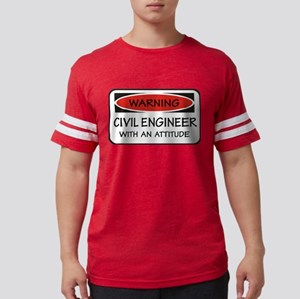 Attitude Civil Engineer T-Shirt