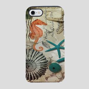 french beach sea shells iPhone 8/7 Tough Case
