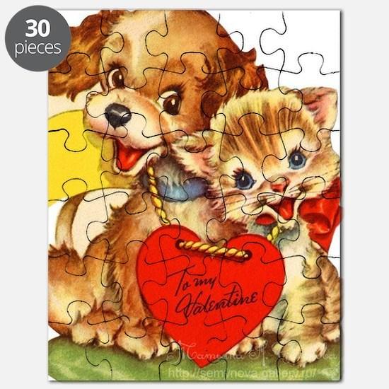 Cool Vintage dog Puzzle